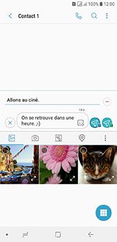 Samsung Galaxy J6 - Contact, Appels, SMS/MMS - Envoyer un MMS - Étape 15