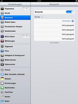 Apple iPad mini - Bluetooth - Geräte koppeln - Schritt 9