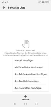 Huawei P20 - Android Pie - Anrufe - Anrufe blockieren - Schritt 8