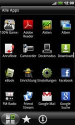 HTC S510e Desire S - WLAN - Manuelle Konfiguration - Schritt 3
