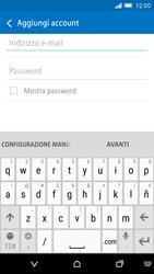 HTC One M9 - E-mail - configurazione manuale - Fase 6