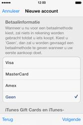 Apple iPhone 4 S - iOS 7 - apps - account instellen - stap 18