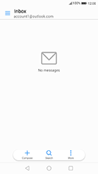 Huawei P10 - Android Oreo - E-mail - Manual configuration (outlook) - Step 10