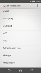 Sony Xperia Z2 - MMS - Manual configuration - Step 14