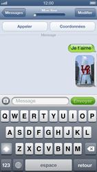 Apple iPhone 5 - MMS - envoi d'images - Étape 13