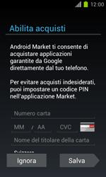 Samsung Galaxy S II - Applicazioni - Configurazione del negozio applicazioni - Fase 13