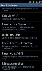Samsung Galaxy S Advance - Réseau - Sélection manuelle du réseau - Étape 5