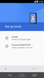 Huawei Ascend P6 - E-mail - 032a. Email wizard - Gmail - Step 8