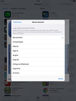 Apple iPad Mini 4 - Apps - Konto anlegen und einrichten - 19 / 35