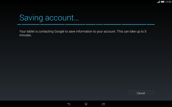 Sony Xperia Tablet Z2 LTE - Applications - Setting up the application store - Step 17