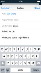Apple iPhone 5c iOS 8 - E-mail - Bericht met attachment versturen - Stap 8