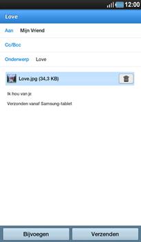 Samsung P1000 Galaxy Tab - E-mail - Hoe te versturen - Stap 12