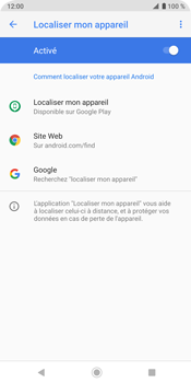 Sony Xperia XZ3 - Appareil - configurer Localiser mon appareil - Étape 8