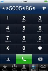 Apple iPhone 4 - Messagerie vocale - configuration manuelle - Étape 6