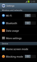 Samsung Galaxy Express - Internet and data roaming - Manual configuration - Step 4