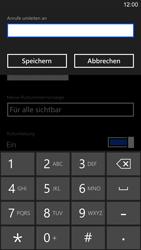 Nokia Lumia 1520 - Anrufe - Rufumleitungen setzen und löschen - 2 / 2