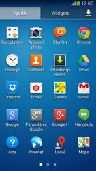 Samsung G386F Galaxy Core LTE - E-mail - configuration manuelle - Étape 3