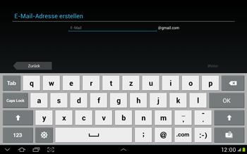 Samsung Galaxy Tab 2 10.1 - Apps - Einrichten des App Stores - Schritt 6