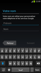 Samsung I9300 Galaxy S III - Applications - Créer un compte - Étape 5