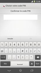 Sony Xpéria Z1 - Sécuriser votre mobile - Activer le code de verrouillage - Étape 9