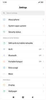 Xiaomi RedMi Note 7 - WiFi - How to enable WiFi hotspot - Step 3