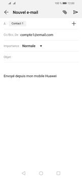 Huawei Y6 (2019) - E-mail - envoyer un e-mail - Étape 6