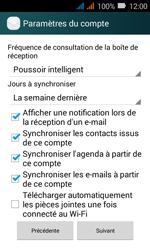 Huawei Y3 - E-mail - Configuration manuelle (outlook) - Étape 10