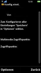 Sony Ericsson U5i Vivaz - MMS - Automatische Konfiguration - Schritt 5