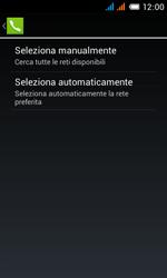 Alcatel One Touch Pop C3 - Rete - Selezione manuale della rete - Fase 10