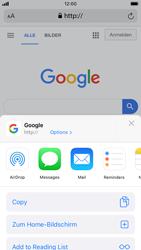 Apple iPhone 8 - iOS 13 - Internet und Datenroaming - Verwenden des Internets - Schritt 17