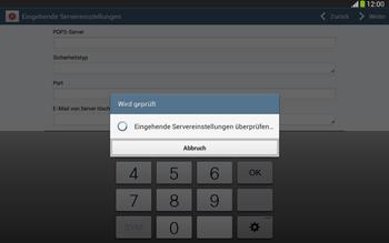 Samsung P5220 Galaxy Tab 3 10-1 LTE - E-Mail - Konto einrichten - Schritt 11