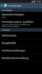 Samsung Galaxy S4 LTE - Internet - Manuelle Konfiguration - 24 / 26