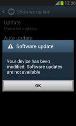 Samsung Galaxy S III Mini - Software - Installing software updates - Step 11