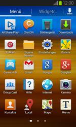 Samsung I9100 Galaxy S2 mit Android 4.1 - WLAN - Manuelle Konfiguration - Schritt 3