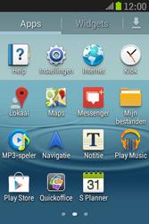 Samsung S6310 Galaxy Young - Internet - Uitzetten - Stap 3