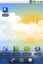 LG GW620 - Messagerie vocale - configuration manuelle - Étape 3