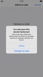 Apple iPhone 7 - iOS 13 - Sécurité - activéz le code PIN de l'appareil - Étape 6