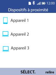 Alcatel 3088X - Internet et connexion - Connexion avec un équipement multimédia via Bluetooth - Étape 8