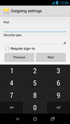 HTC Desire 310 - E-mail - Manual configuration - Step 16
