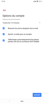 Sony Xperia 5 - E-mail - 032c. Email wizard - Outlook - Étape 11