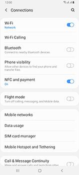 Samsung Galaxy A80 - WiFi - Enable WiFi Calling - Step 6