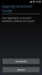 Sony Xperia J - Applicazioni - Configurazione del negozio applicazioni - Fase 4