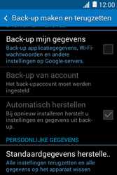 Samsung Galaxy Young2 (SM-G130HN) - Instellingen aanpassen - Fabrieksinstellingen terugzetten - Stap 5