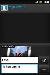 Sony ST27i Xperia Go - MMS - Afbeeldingen verzenden - Stap 13