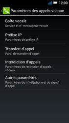 Alcatel OT-5036X Pop C5 - Messagerie vocale - Configuration manuelle - Étape 7