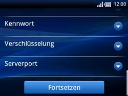 Sony Ericsson Xperia X10 Mini Pro - E-Mail - Konto einrichten - Schritt 10
