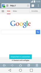 LG Spirit 4G - Internet und Datenroaming - Verwenden des Internets - Schritt 9