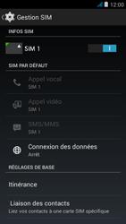 Wiko jimmy - Internet et roaming de données - Comment vérifier que la connexion des données est activée - Étape 5
