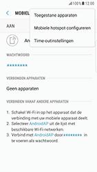 Samsung Galaxy S6 Edge - Android Nougat - WiFi - Mobiele hotspot instellen - Stap 8