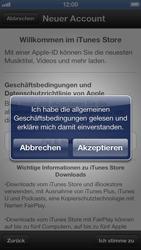 Apple iPhone 5 - Apps - Einrichten des App Stores - Schritt 7